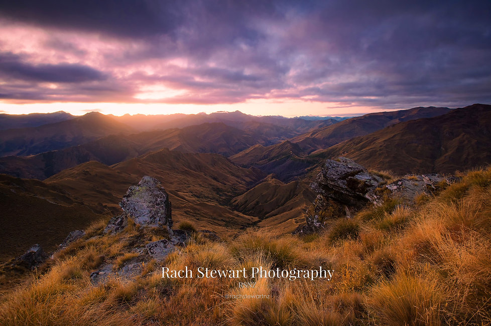 Skippers Canyon Queenstown sunset
