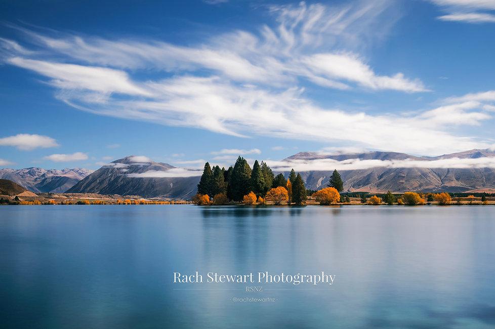 Lake Ruataniwha Twizel Autumn