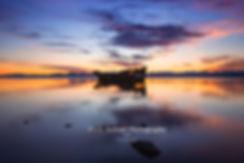 Janie Seddon Shipwreck Motueka sunrise