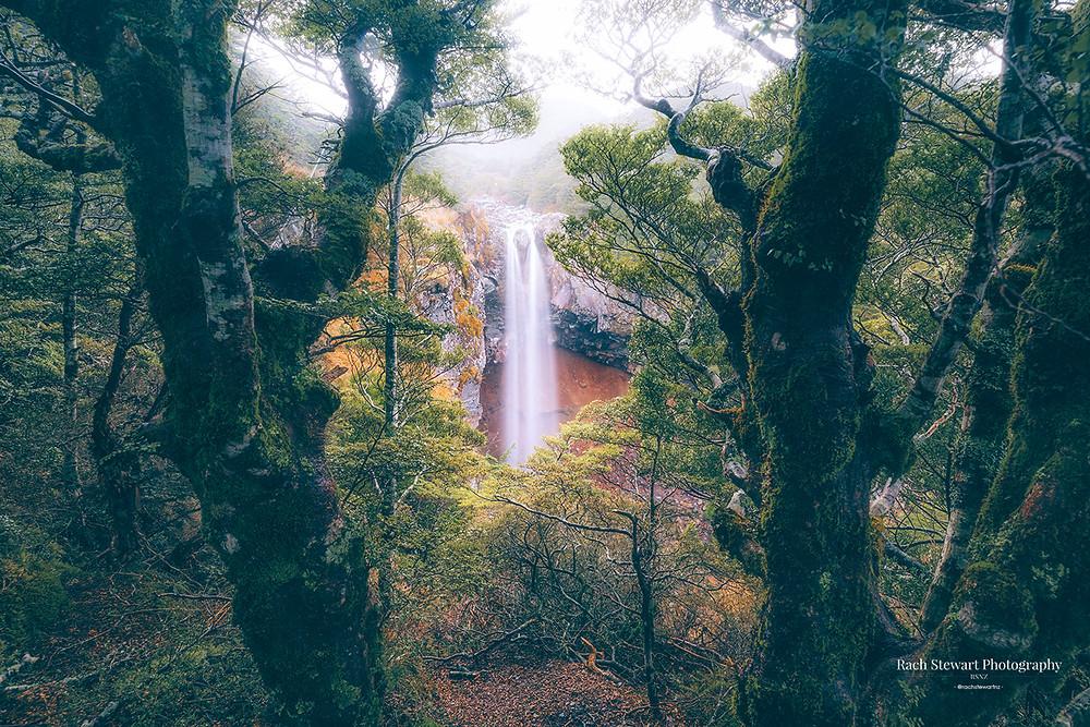 Mangawhero Falls