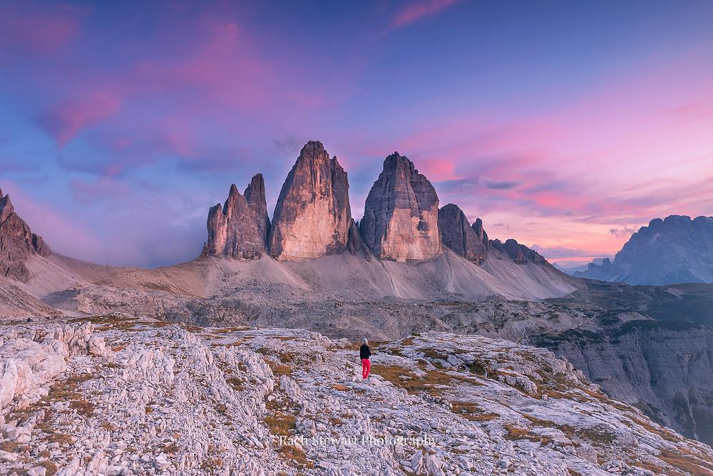 Tre Cime Three Peaks