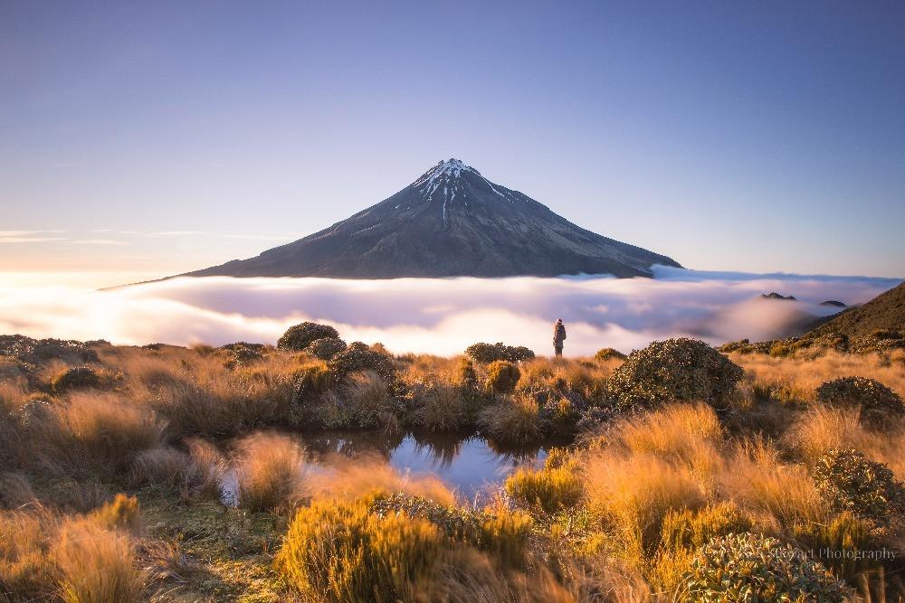 Pouakai Track Mount Taranaki