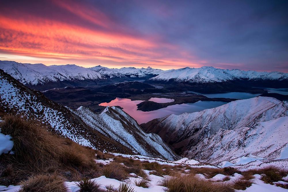 Roys Peak Sunset Wanaka