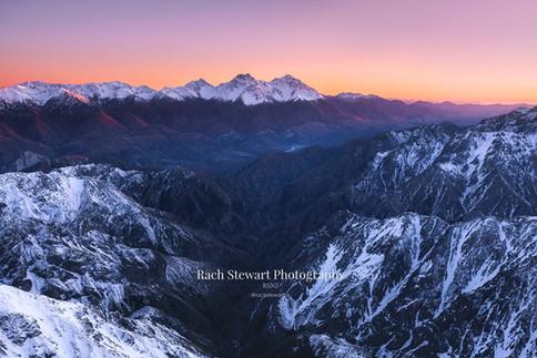 Kaikoura Range sunrise 5
