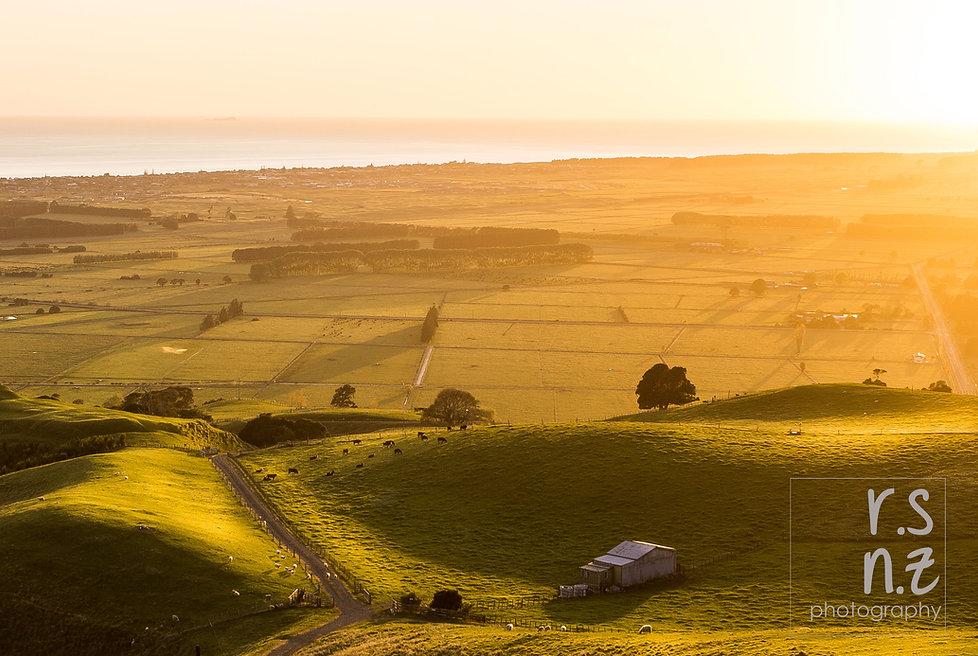 Papamoa Hills sunrise