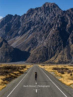 Tasman Road person walking New Zealand