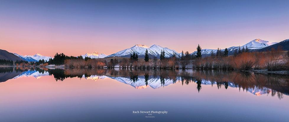 Lake Camp sunrise