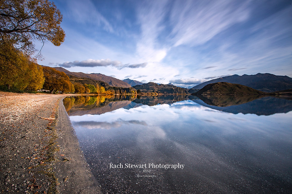 Glendhu Bay Lake Wanaka reflections