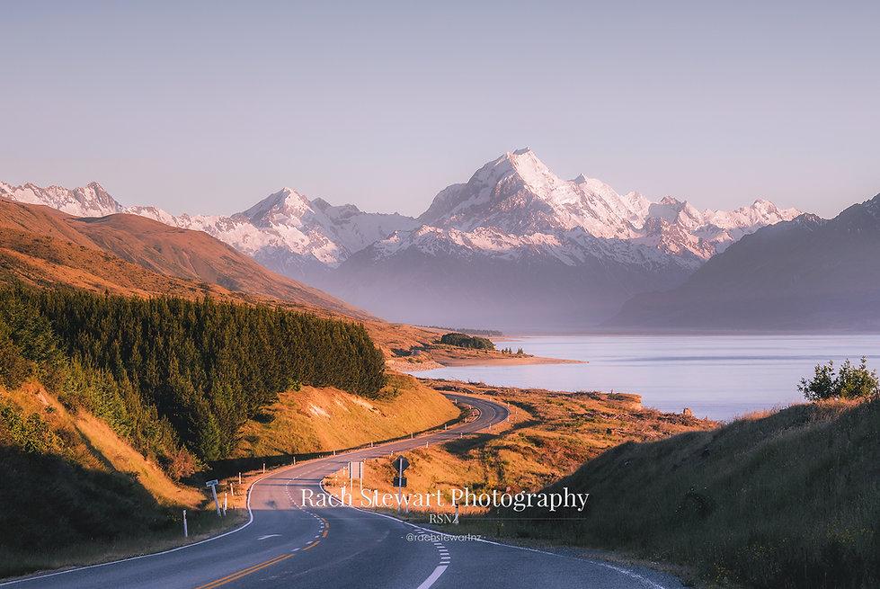 Mount Cook Road sunrise
