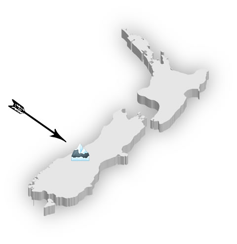 Mount Cook Map