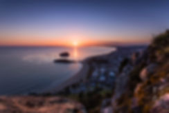 Mount Maunganui summit sunrise