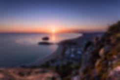 Mount Maunganui summit sunrise