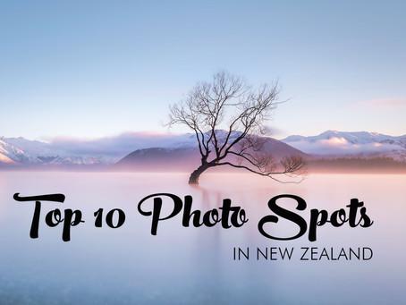 TOP 10 PHOTO SPOTS IN NEW ZEALAND