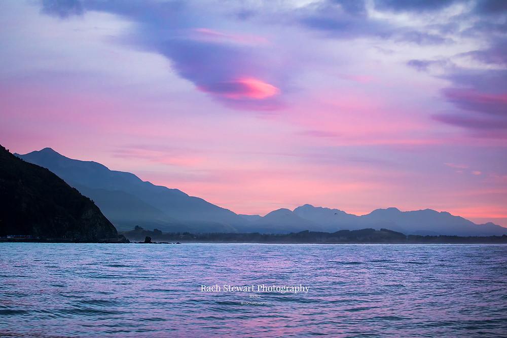Sunrise, Kaikoura