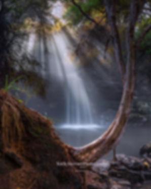 Hot Springs Waterfall Rotorua