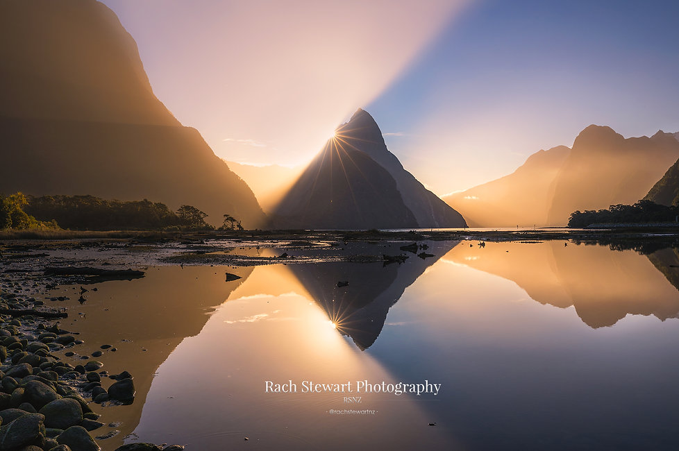 Milford Sound Sunset Fiordland