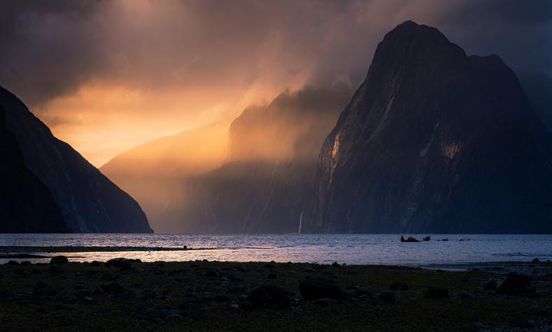 New Zealand Landscape Calendar 2022 - December 2022