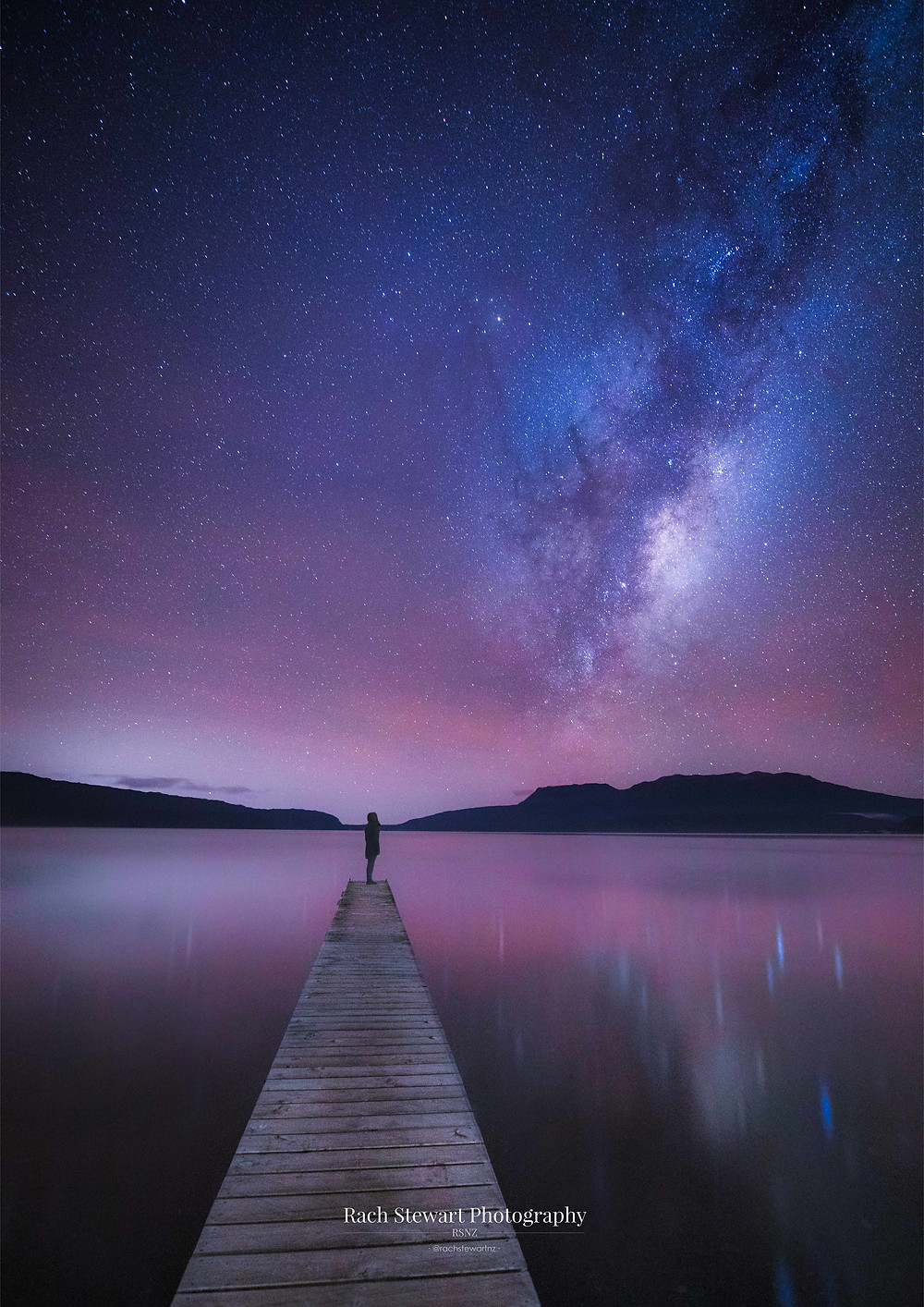 Lake Tarawera Milkyway