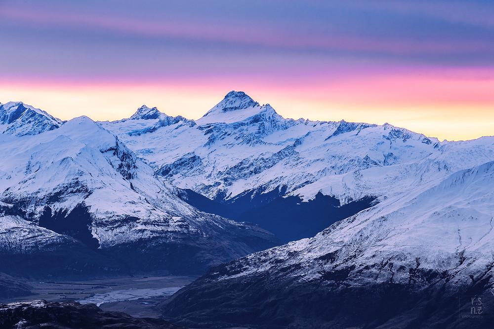 Mount Aspiring from Roys Peak