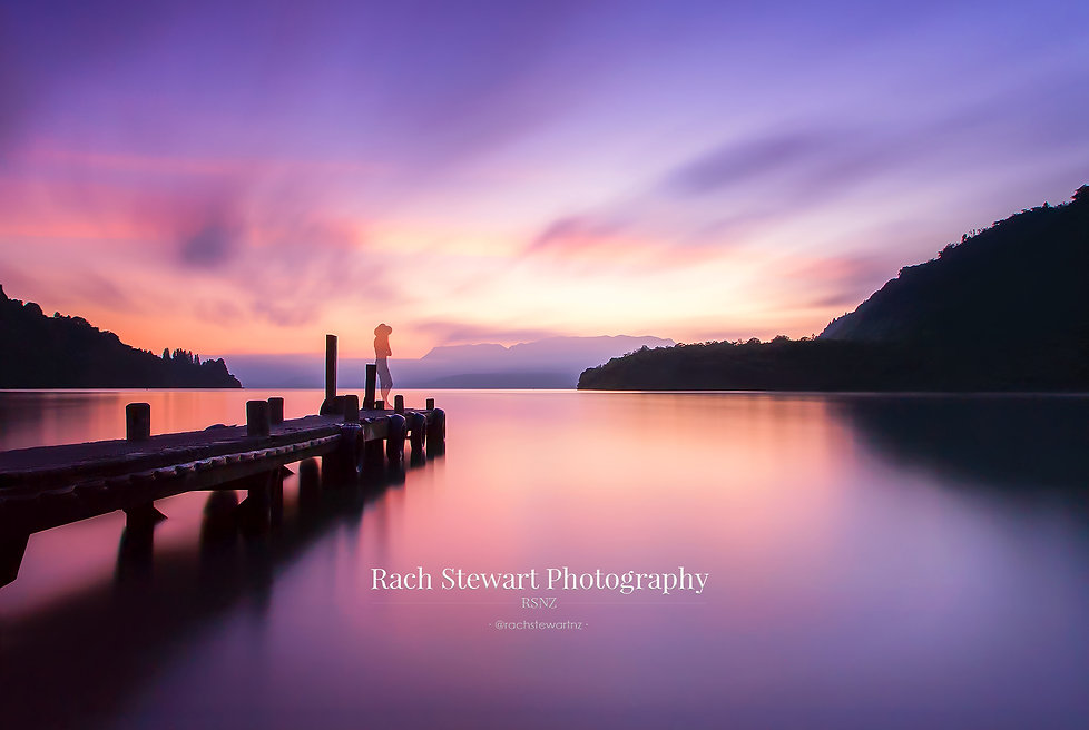 Lake Tarawera Rotorua sunrise