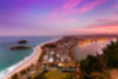 Mount Maunganui summit sunset
