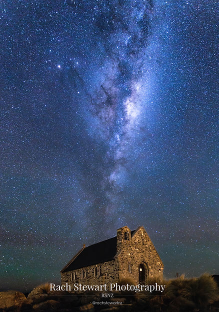 Church of the Good Shepherd astro Tekapo