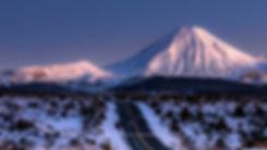 Mount Ngauruhoe twilight