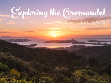 THE TOP 5 PHOTO SPOTS IN COROMANDEL NEW ZEALAND