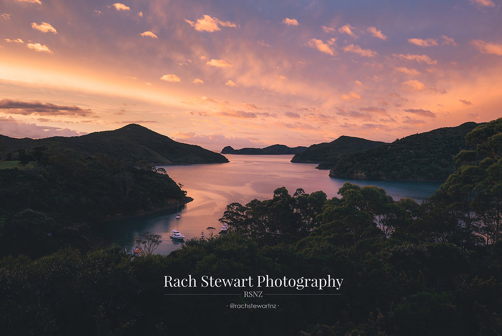 Great Barrier Island sunset
