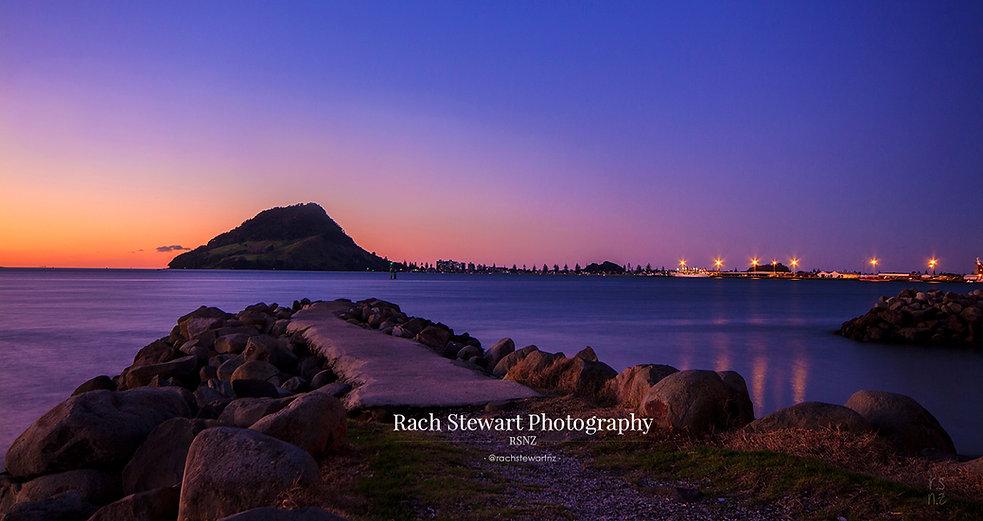 Mount Maunganui sunset Sulphur Point