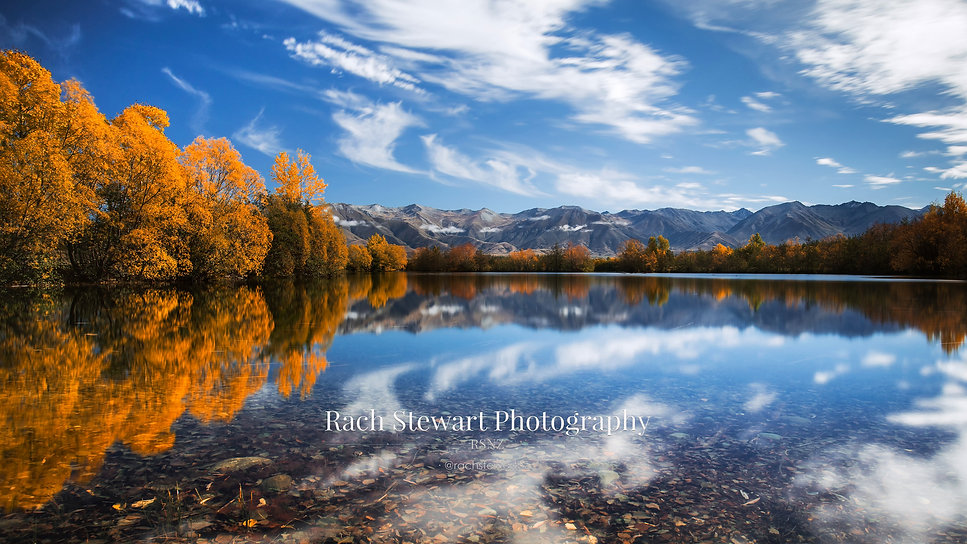 Twizel Autumn Reflections New Zealand