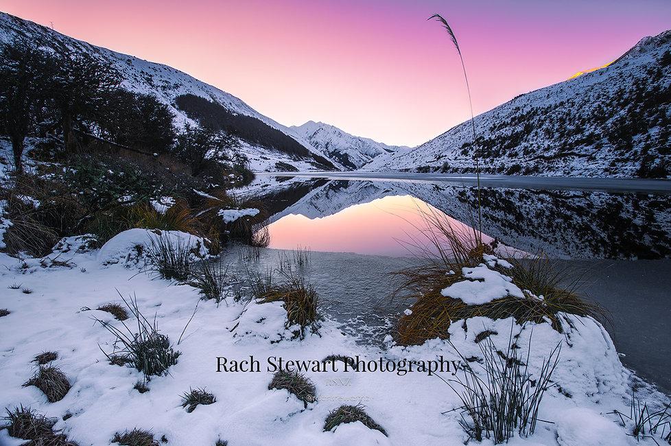 Lake Kirkpatrick Queenstown sunset