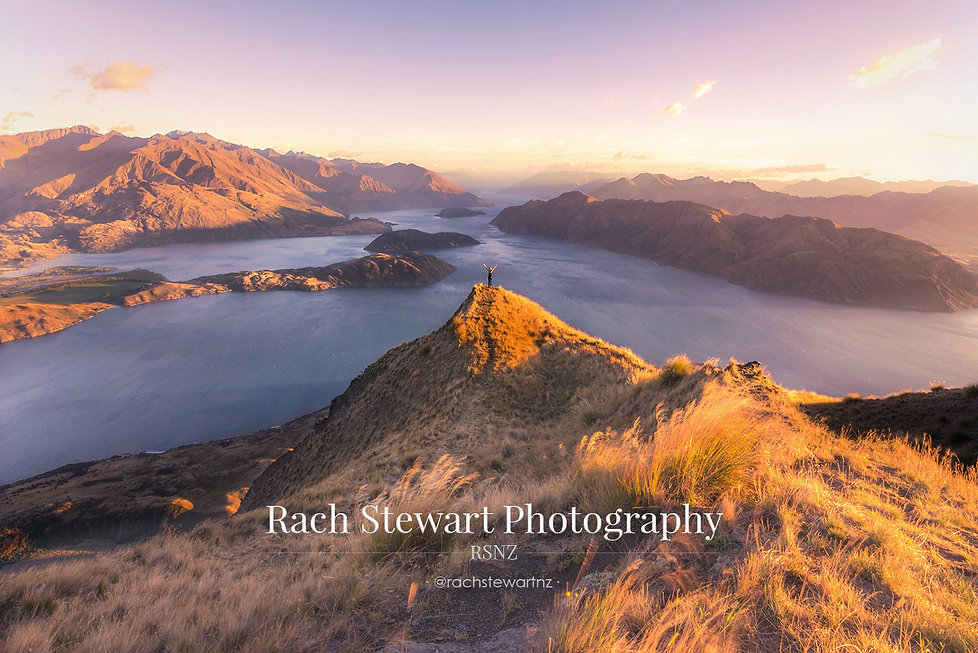Roys Peak Wanaka sunrise