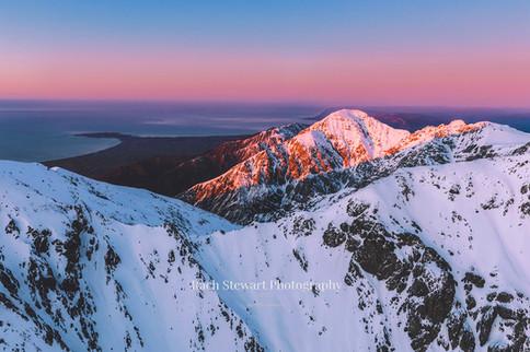 Kaikoura Range sunrise 2