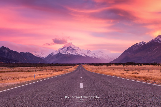 Mount Cook sunrise