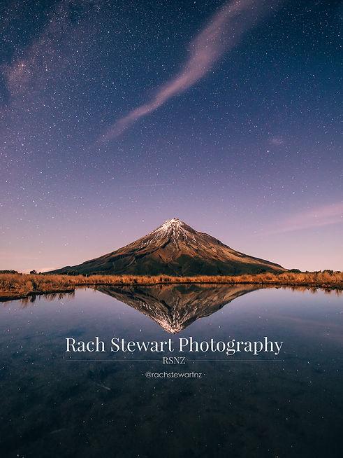Mount Taranaki stars