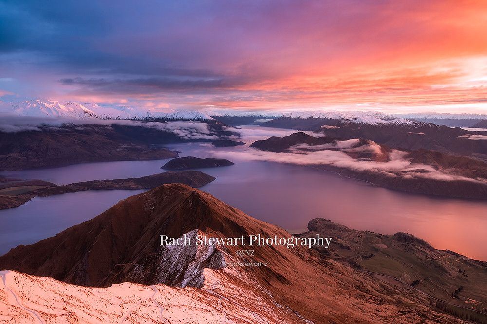 Roys Peak Sunrise, New Zealand