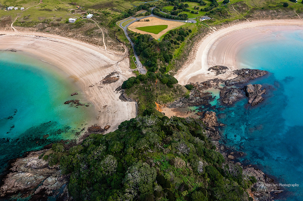 Maitai Bay and Waikato Bay Northland