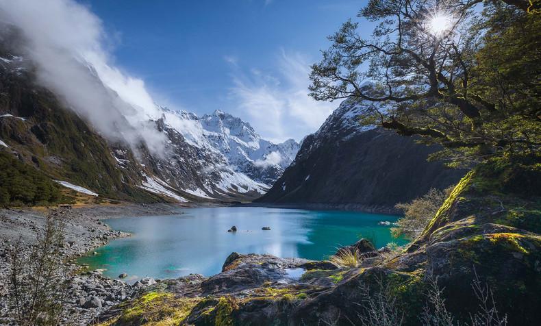 New Zealand Landscape Calendar 2022 - July 2022