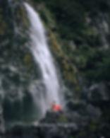 Earland Falls Routeburn Track Fiordland
