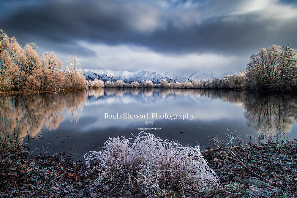 Twizel Hoar Frost, New Zealand