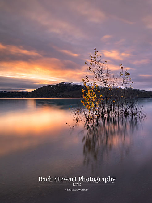 Lake Tekapo Sunset Autumn