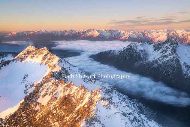 Mount Cook National Park clouds