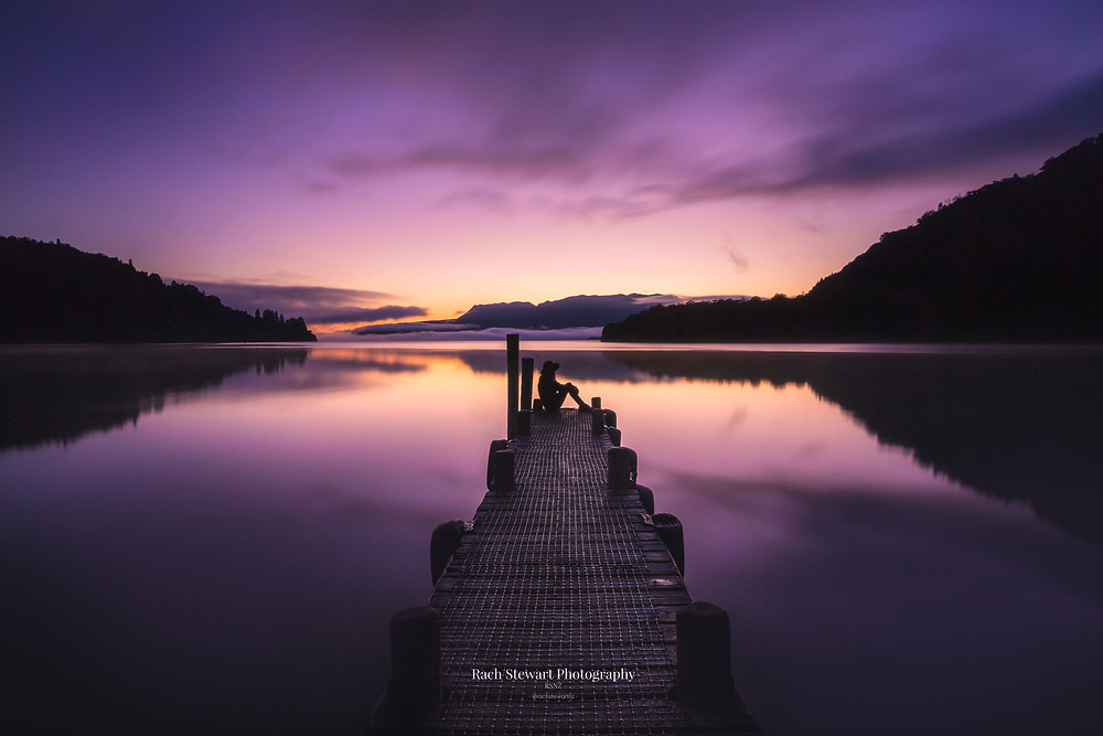 Lake Tarawera Sunrise Rotorua