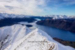 Roys Peak Wanaka selfie