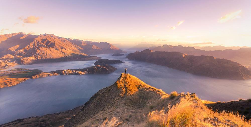 Roys Peak Wanaka New Zealand