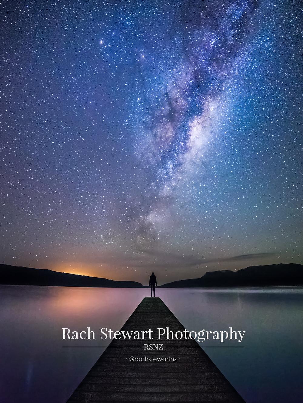 Lake Tarawera astrophotography