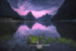 Milford Sound sunrise