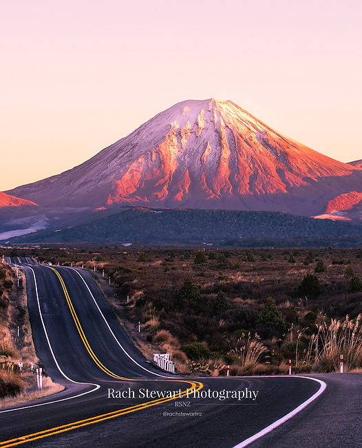 Mount Ngauruhoe sunrise