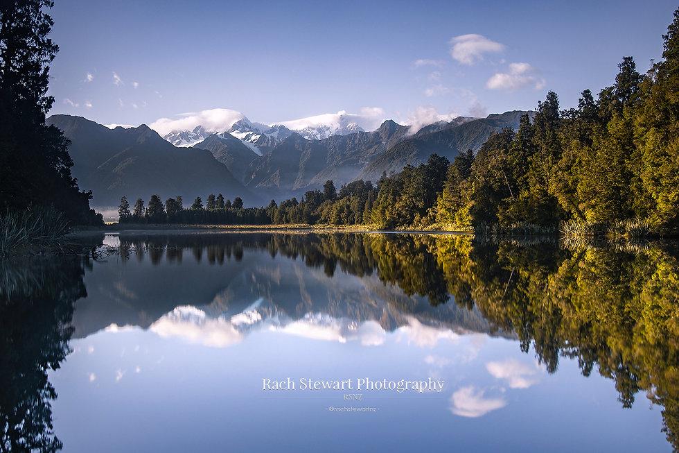 Lake Matheson Bluebird